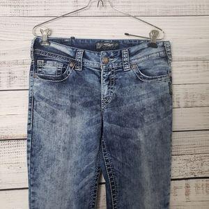 SILVER Suki Acid Wash Jeans Size Size 30/29